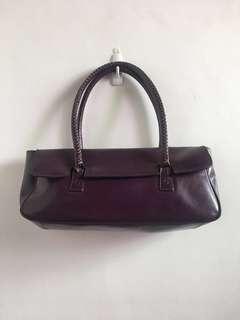 XOXO Long Bag in Eggplant Purple