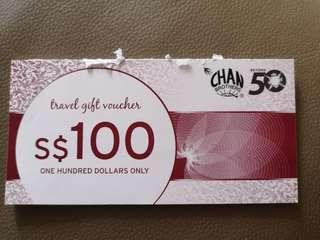 🚚 CHAN brothers travel gift vouchers