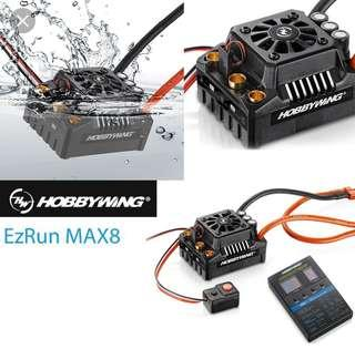 Hobbywing Max 8 V3 150A ESC for 1/8th Scale RC Car