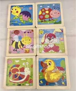 Wooden Puzzles, Gift Set, Goodie Bag, Birthday- Wooden Puzzle
