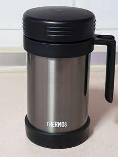 Rare! Thermos mug with handle