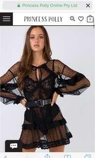 Looking for princess Polly angel kiss black mesh dress
