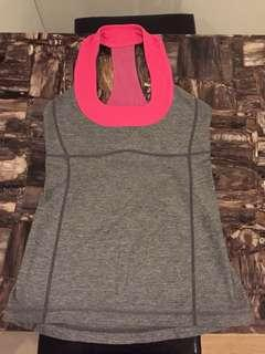 Lululemon Tank with built in bra, size 4