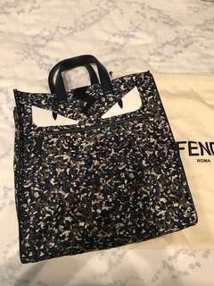 New Fendi monster tote bag