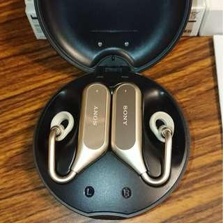 Sony XEA20 金色 藍牙耳機 防掉 無線耳機