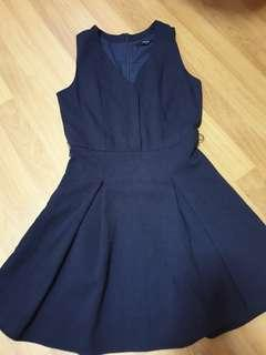🚚 Mds collection Navy Blue Dress