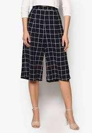 ZALORA collection culottes with pleats