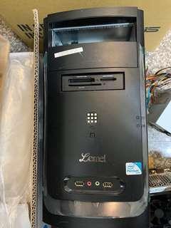送濾掛咖啡 電腦機殼 主機 聯強 lemel MATX 適用 華碩 聯強 技嘉 送電源線