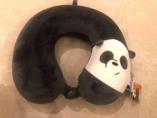 The Bare Bears Neck Pillow