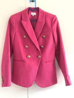 Witchery Double Breasted blazer size 8 NWOt