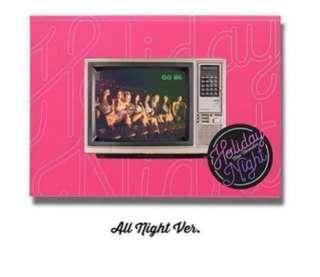 SNSD HOLIDAY NIGHT ALBUM (All Night ver.)