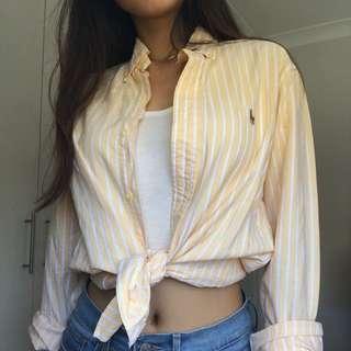 Ralph Lauren Yellow Shirt