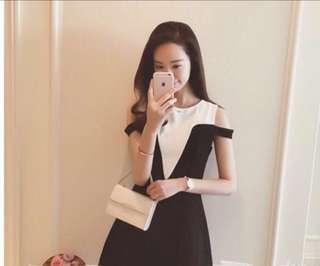 🚚 特價#全新氣質設計款洋裝(M-)