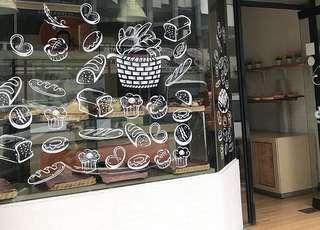 Dijual peralatan bakery (oven, rak, kulkas, meja, mixer)