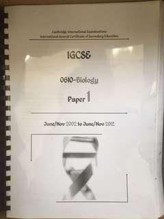 igcse past papers | Textbooks | Carousell Malaysia