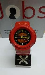 G-Shock AW-582CC Hyper Colour Red Chilli