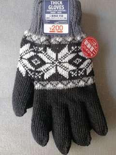 BN Thick Winter Gloves