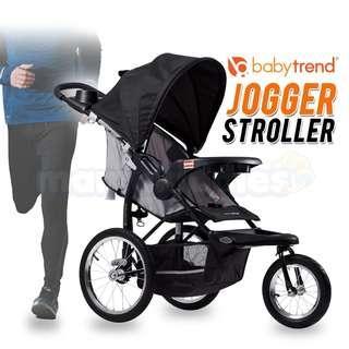 Original Baby Trend Expedition Lightweight 3 Wheel Baby Jogger Stroller- RG