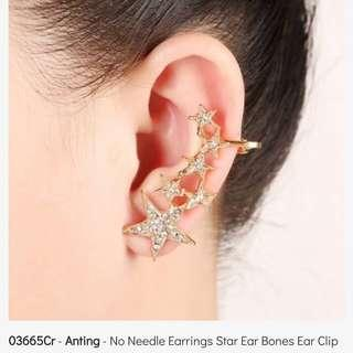 Anting Clip Star