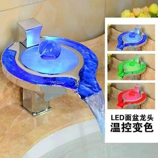 To bless Bathroom Led faucet Water Tap new