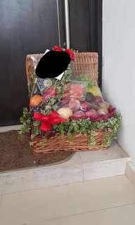 Fruit Basket | Fruit Hamper | Get Well Soon Basket