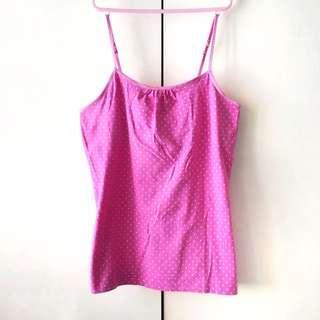 Cherokee Girls' Pink Spaghetti Strap Top (Size XL)