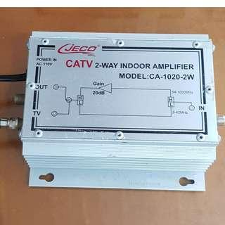 🚚 CJECO CATV智慧型 IC雙向放大器 CA-1020-2W
