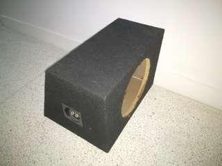 """Ported Subwoofer box for 10"""" Sub"""