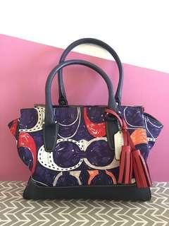 Coach Legacy Heritage Signature C Candace Carryall