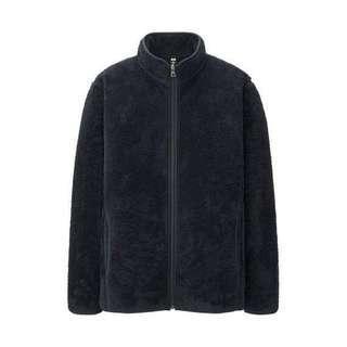 Uniqlo Faux Fur Fleece Jacket