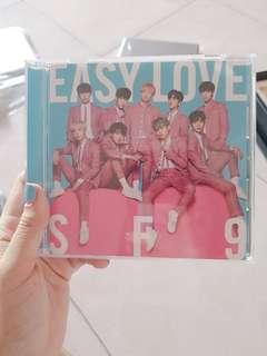 🚚 SF9 easy love japanese album