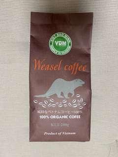 越南 貂鼠咖啡 100% 有機 咖啡粉 貓屎 咖啡 Starbucks Pacific coffee powder organic 即磨