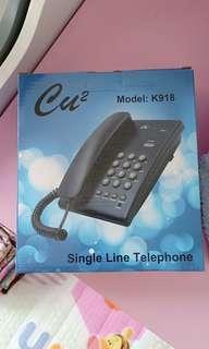 Single line telephone TM