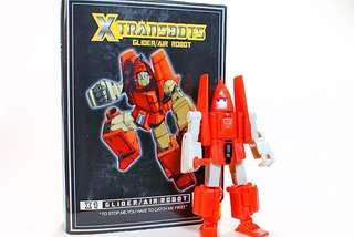 Transformers Masterpiece X-transbots mini bot Powerglide