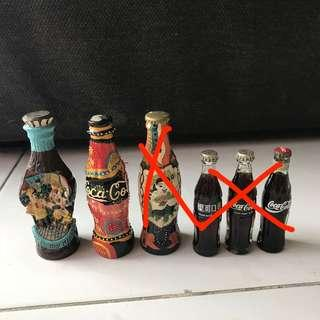 Coke miniature collectibles