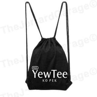 Yew Tee Ko Pek MRT Drawstring Bag