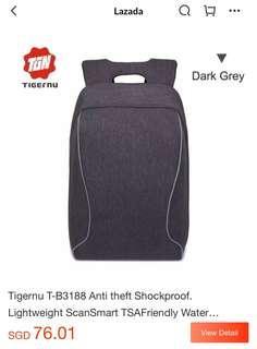 TIGERNU T-B3188 Anti Theft Laptop Backpack