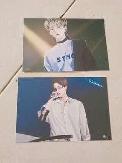 🚚 Jeonghan fansite postcard