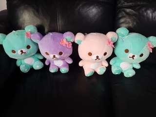 Rilakkuma bear soft toy