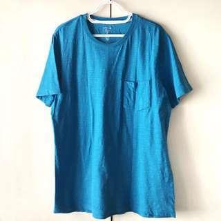 Gap Men's Blue Lived-In Rode Shirt (Size S)