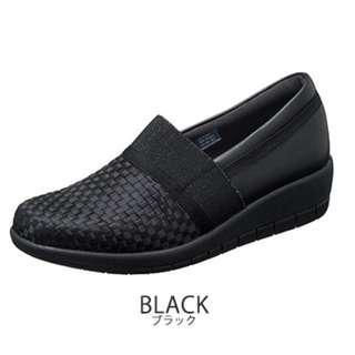 日本樂天購,日本Topaz 舒適女裝鞋 25cm黑色。