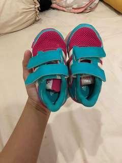 Sepatu Adidas Baby/Anak Pink Hijau Ori
