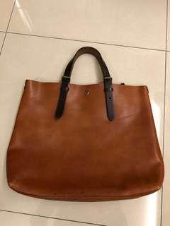 Alto japan tote bag vintage leather