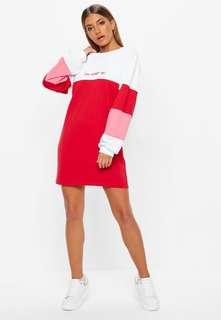 """oh honey no"" sweater dress"