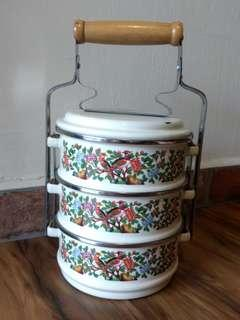 🚚 Vintage Food Carrier or Tingkat