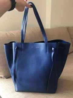 Céline Large Cabas Phantom in blue