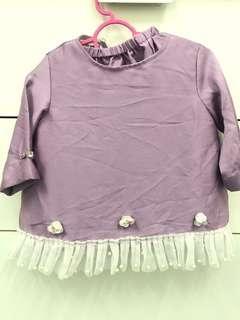 baju kurung bayi