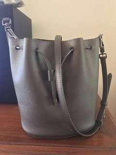 FINAL PRICE! Grey Bucket Bag