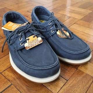 NEW! Skechers Men's Navy Blue Relaxed Fit - Memory Foam Shoes: Eris - Inaldo (8)