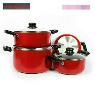 AreIkanq Cookware Set 4 in 1